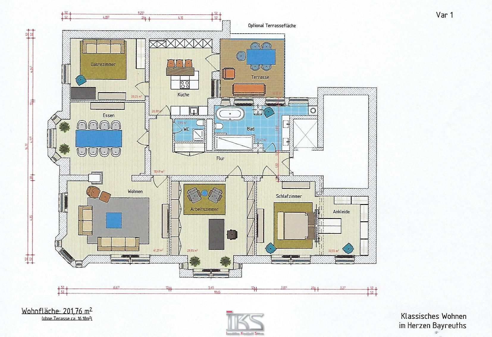 Kernsaniertes & Klassisches Wohnen auf ca. 202 m² im Herzen Bayreuths